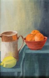 Jug with Citrus Fruits (click to enlarge)